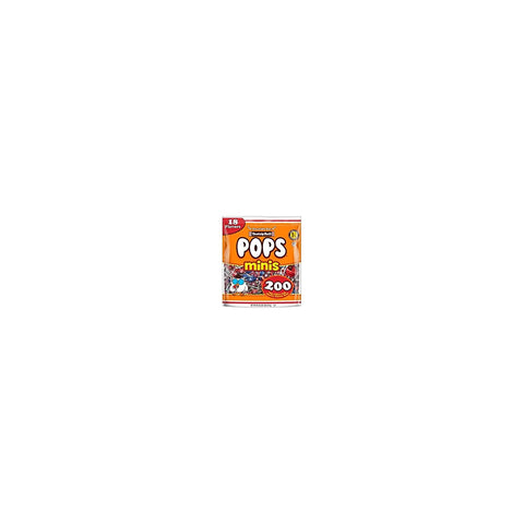 Tootise Roll Assorted Flavor Mini Pops - Bulk Bag of 200 Lollipops, 36 Ounce