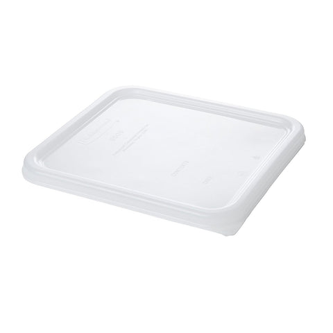 Image of Rubbermaid Commercial Products Dur-X Lid, White, FG650900WHT, (Pack of 12)