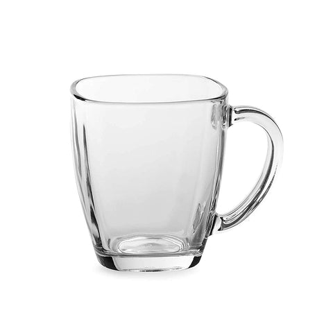 Image of Libbey Tempo Square Glass 14-Ounce Mug