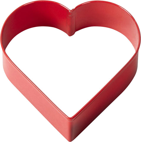 Image of Wilton Red Metal Heart Cookie Cutter 3""