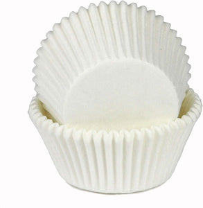 Chef Craft Parchment Paper Cupcake Liners, White (100-Pack)