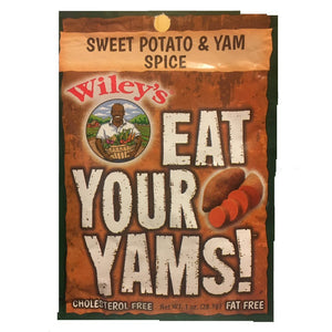 Wiley's Sweet Potato & Yam Spice - 3 (THREE) 1oz Packets