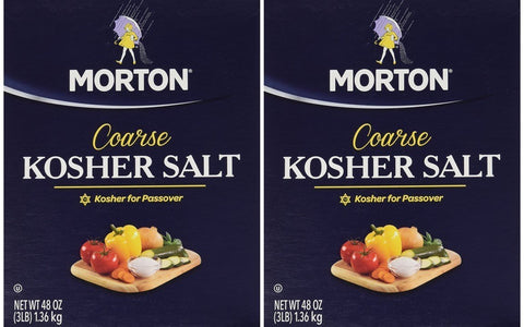 Morton Salt Kosher Salt, Pack of 2