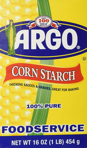 Argo Corn Starch 16 oz. Box (Pack of 8)