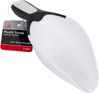 Chef Craft Plastic Scoop, One Size, White