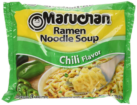 Maruchan Ramen Chili, 3.0 Oz, 24 Count