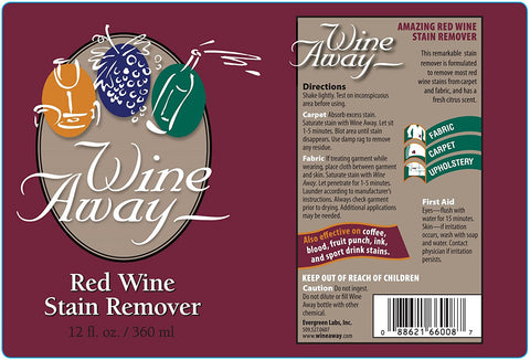Wine Away Red Wine Stain Remover, 12– oz