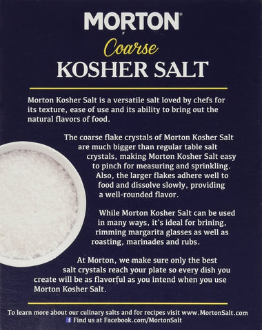 Image of Morton Salt Kosher Salt, Pack of 2