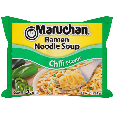 Image of Maruchan Ramen Chili, 3.0 Oz, 24 Count