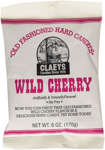 Image of Claey's Wild Cherry Drops - 6 oz pack