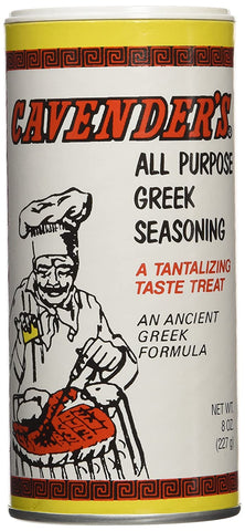 Image of Cavenders All Purpose Greek Seasoning, 4 Pack (4 X 8oz)