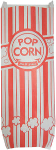 Carnival King Popcorn Bags 2 oz, 200 Classic Red and White Bags (200 Bags)