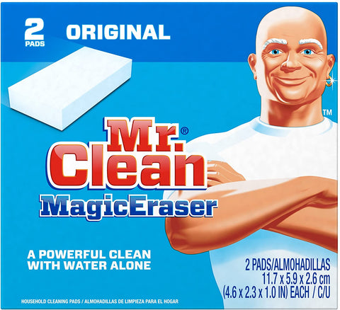Image of Mr Clean Erase and Renew Magic Eraser, Original, 2 Count