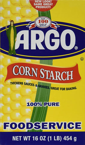 Image of Argo Corn Starch - 16 oz. (pack of 2) 100% PURE Gluten