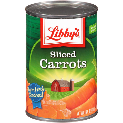 Image of Libby's Sliced Carrots, 14.5-Ounce Cans (Pack of 12)
