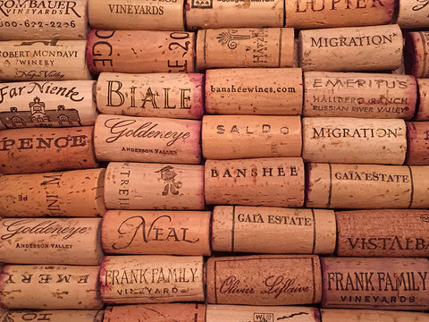 Image of Premium Recycled Corks, Natural Wine Corks From Around the US - 50 Count