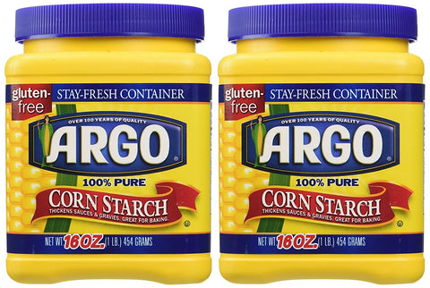 Image of Argo 100% Pure Corn Starch, 16 Oz, Pack of 2