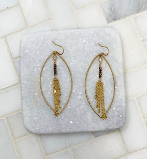 BOHO OMBRE TASSEL EARRINGS