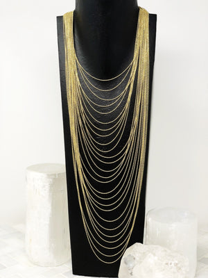 DANGEROUSLY IN LOVE LAYERED NECKLACE