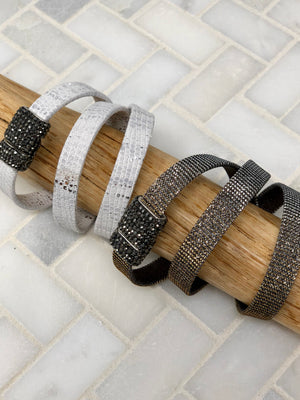 TRIPLE WRAP LEATHER BRACELET