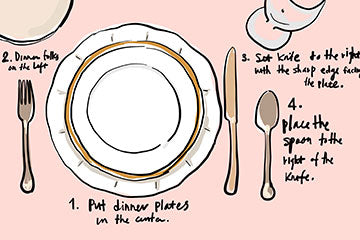 How to Set a Basic Dinner Table