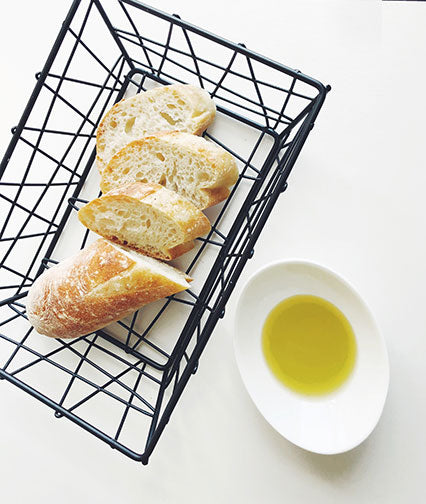 Modern Geometric Bread Basket
