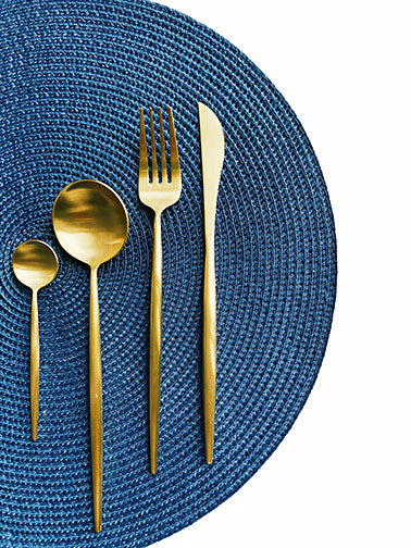 Luxurious Golden Flatware