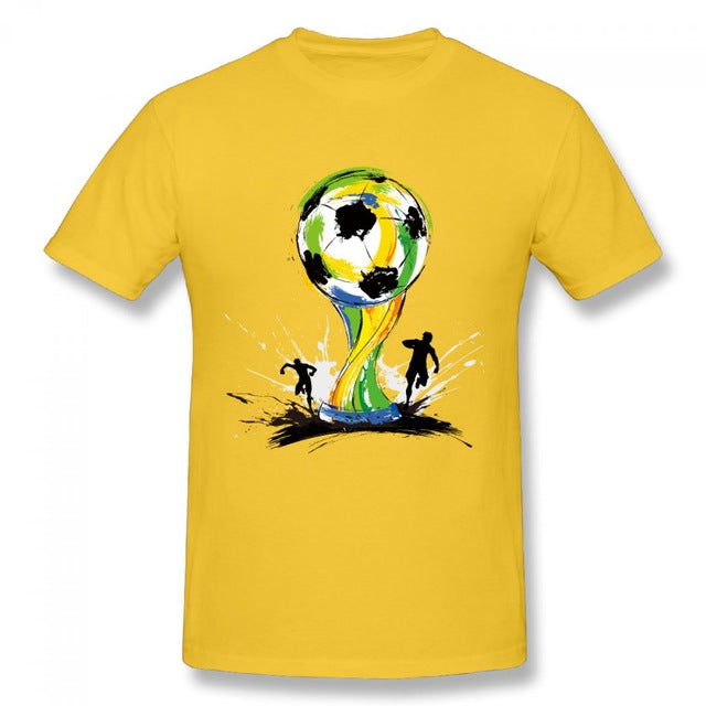 Mens Casual T-Shirt - World Cup 2018