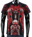 Creative 3D Skull Cotton T-shirt