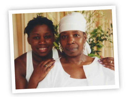Gemmia and Iyanla Vanzant