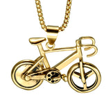 Colar Bicycle Charm