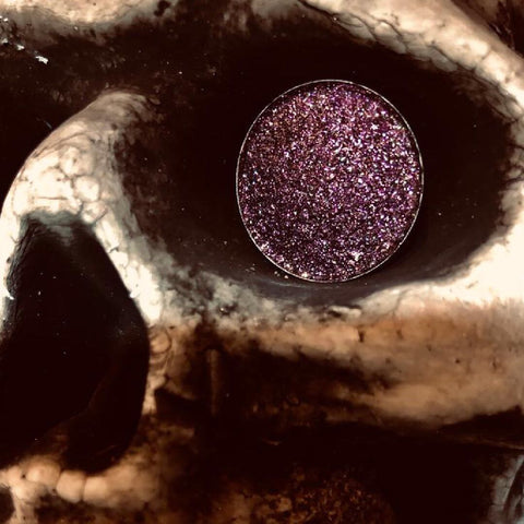 Nighjt by collective cosmetics in 26mm magentic eyeshadow pigment pan