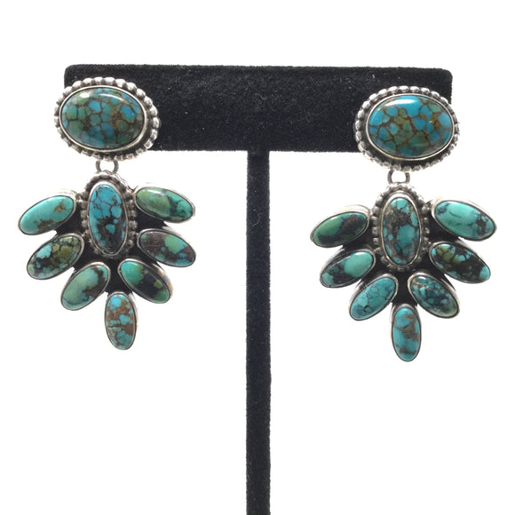 Bisbee Turquoise Chandelier Earrings