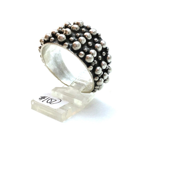 Contemporary Large Ring, size 13.5