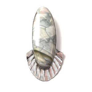 Willow Creek Jasper Pendant