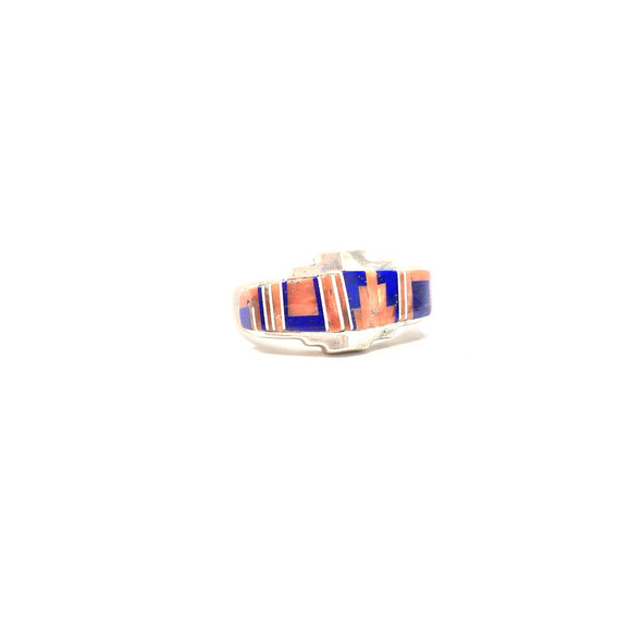 Southwestern Inlaid Ring, size 11
