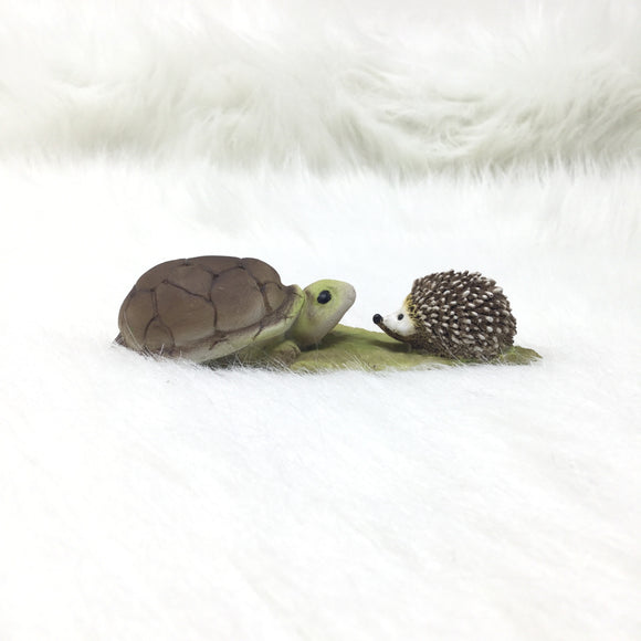 Turtle & Hedgehog