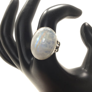 Moonstone Ring, size 9