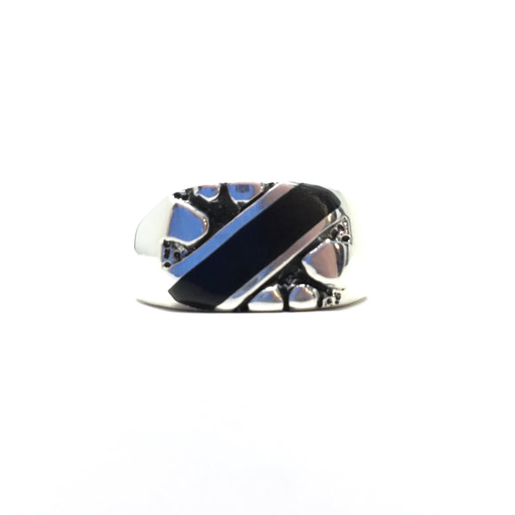 Black Onyx Ring, size 12