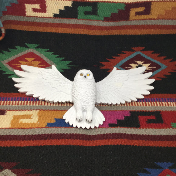 Snowy Owl Wall Mount
