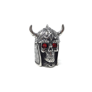 Stainless Steel Viking Ring, size 14