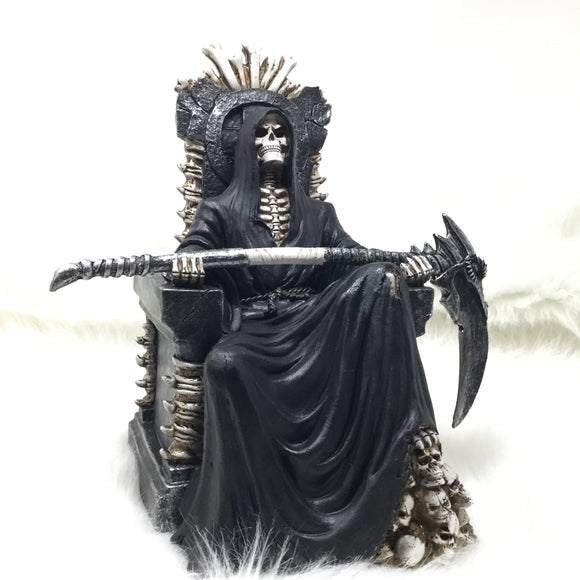Grim Reaper on Throne