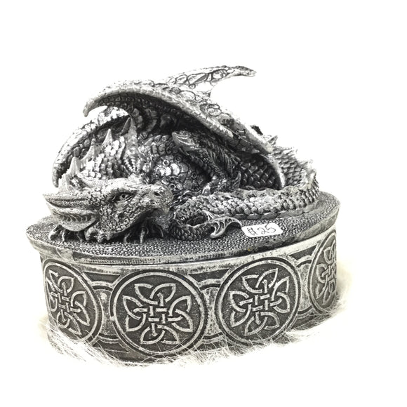Celtic Dragon Trinket Box