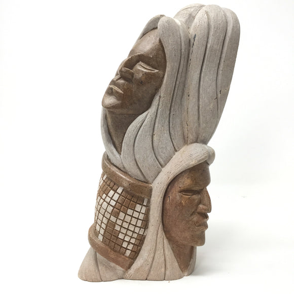 Iroquois Soapstone Carving, Steve Powless