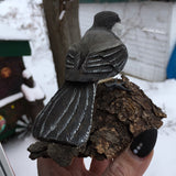 Chickadee Wood Carving