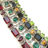 Emerald Valley Quartz Tennis Bracelet