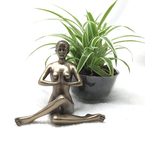 Nude Female Yoga Pose Incense Burner