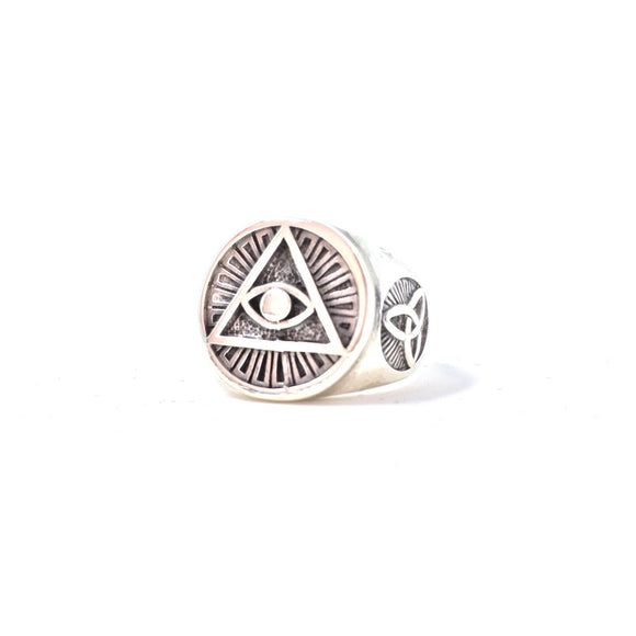 Illuminati Ring, size 10