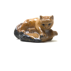 Carved Jasper Cat
