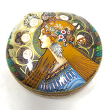Lacquered Abalone Shell Keepsake Box